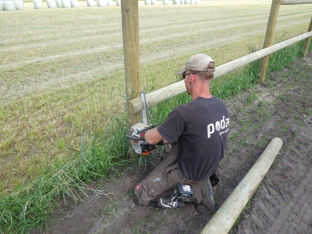 Poda garantiert einen professionellen Montageservice im Zaunbau | Poda Zaun
